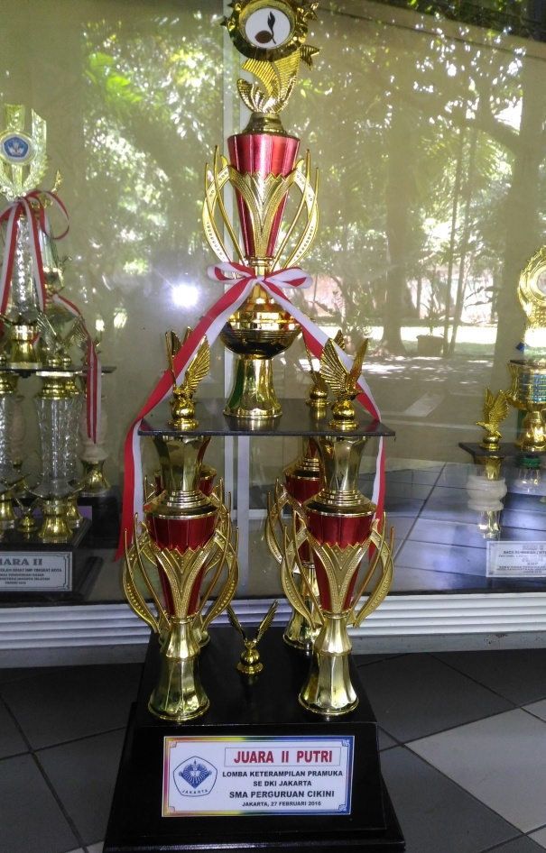 Piala Pemenang Lomba Pramuka Se- DKI Jakarta