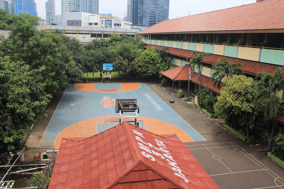 Gedung Sekolah SMP N 57 Jakarta Selatan